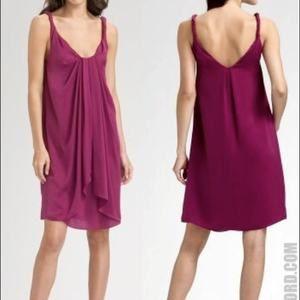Diane von Furstenberg Pepet Magenta Mini Dress